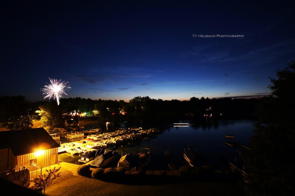 Waupaca Chain O' Lakes Fireworks