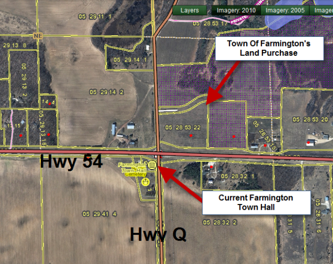 Town of Farmington Purchases Land Across from Current Town Hall