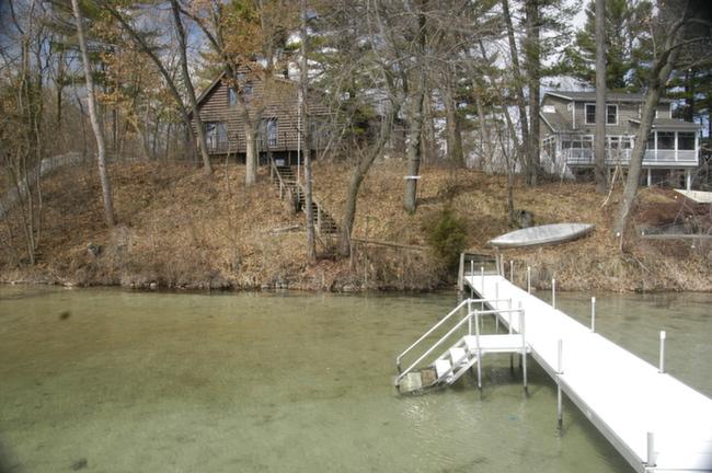 Waupaca Chain O Lakes Real Estate shore Line