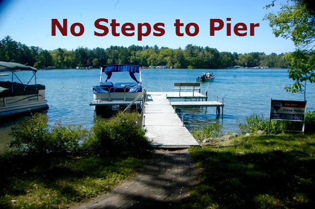Waupaca Chain o Lakes No steps