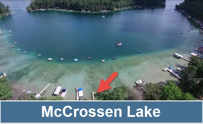 Waupaca Chain of Lakes Lake Name 650