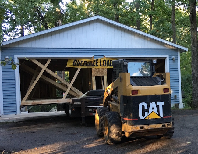 Garage Moves Out of Chain's Camp Cleghorn