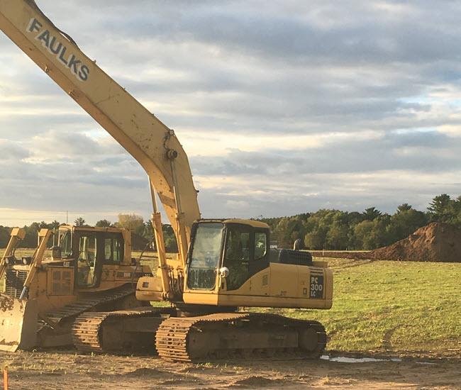Construction Starts at Waupaca's New Dog Park