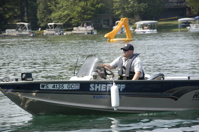 Chain Boat Patrol Citations Down in 2016