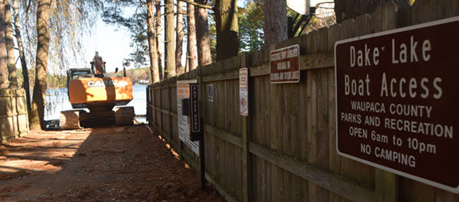 Waupaca Chain Boat Landing Improvements – Dake & Miner Lakes